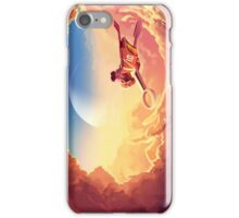 Ride over the clouds iPhone Case/Skin