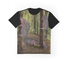 Can Hippos Climb Trees? Graphic T-Shirt