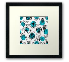 Exotic beetles Framed Print