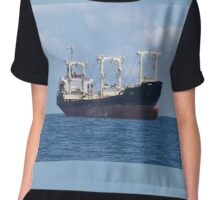 Cargo Ship Beril 1 Chiffon Top
