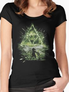 triforce strorm Women's Fitted Scoop T-Shirt