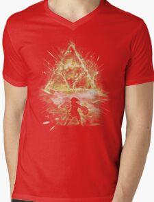 triforce strorm Mens V-Neck T-Shirt