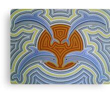 Barrang Guparr (Dawn Dolphin)  Canvas Print