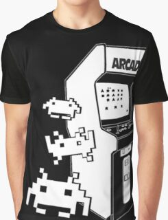 Space Invaders Minimal Graphic T-Shirt