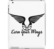 Earn Your Wings iPad Case/Skin