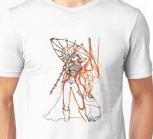 Umbrella Samurai Woman Unisex T-Shirt