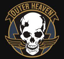 Outer Heaven Logo by gamergeekshirts