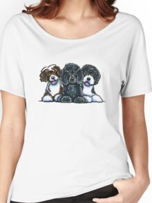 Three Water Dogs Women's Relaxed Fit T-Shirt