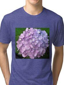 Mauve Hydrangea Tri-blend T-Shirt