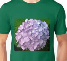 Mauve Hydrangea Unisex T-Shirt
