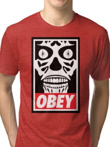 They Obey Tri-blend T-Shirt