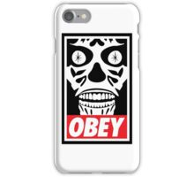 They Obey iPhone Case/Skin