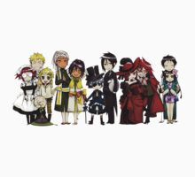 Black Butler Cast Kids Clothes