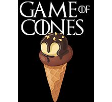 GAME OF CONES Photographic Print