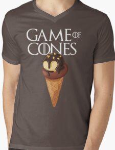 GAME OF CONES Mens V-Neck T-Shirt