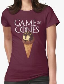 GAME OF CONES Womens Fitted T-Shirt