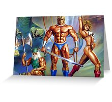 Golden Axe Retro Greeting Card