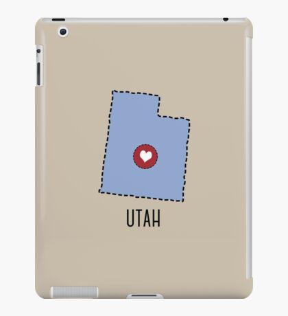 Utah State Heart iPad Case/Skin