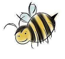 Bee Good, Do Good - GISHWHES Challenge Charity Bee Photographic Print