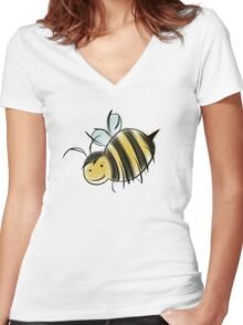 Bee Good, Do Good - GISHWHES Challenge Charity Bee Women's Fitted V-Neck T-Shirt