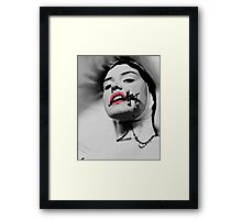 Mother superior Framed Print
