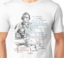 Thomas Jefferson Picture Quote - The Constitution Unisex T-Shirt