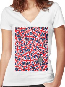 Pin it on Britain Women's Fitted V-Neck T-Shirt