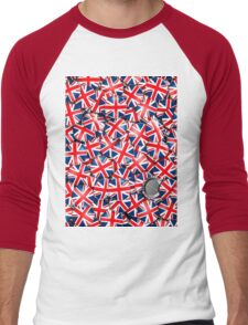 Pin it on Britain Men's Baseball ¾ T-Shirt