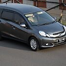 grey colored honda mobilio by bayu harsa