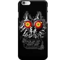 Mask Majoras iPhone Case/Skin