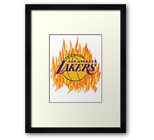 lakers Framed Print