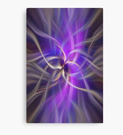 The Violet Flame. Spirituality Canvas Print