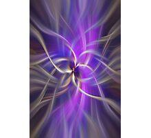 The Violet Flame. Spirituality Photographic Print