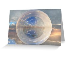 Reflected World Greeting Card