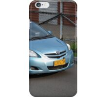 blue bird taxi iPhone Case/Skin
