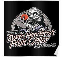 Sweet Henrietta's Fruit Cellar Poster