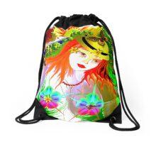 *EARTH*GIRL^#! Drawstring Bag