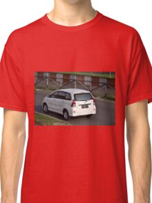 white colored toyota avanza Classic T-Shirt