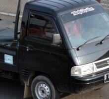 black colored suzuki carry Sticker