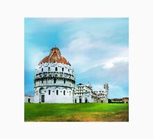 Watercolor painting of Pisa, Italy Unisex T-Shirt