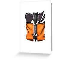 Naruto cloth Greeting Card