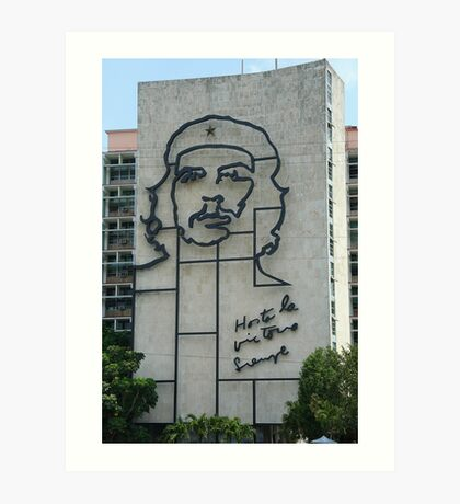 Monument to Che Guevara Art Print
