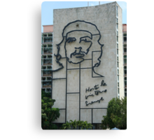 Monument to Che Guevara Canvas Print
