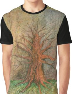 Old Tree Graphic T-Shirt