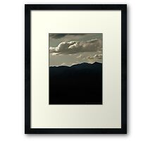 Mountainous Colorado V Framed Print