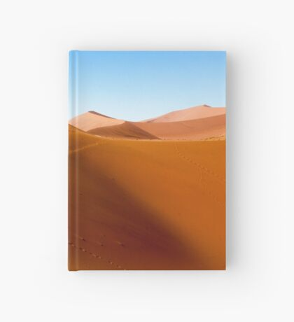 Sand dune near Sossusvlei Hardcover Journal