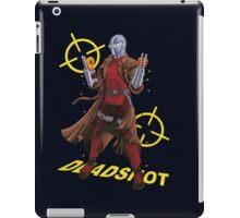 Deadshot Dc Comics iPad Case/Skin