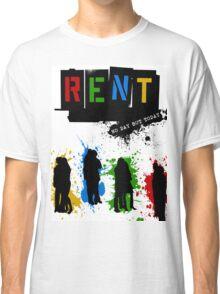 RENT Musical Paint Splash Classic T-Shirt
