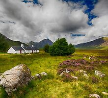 Black Rock Cottage ~ Glencoe by M.S. Photography/Art
