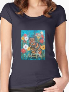 puss Women's Fitted Scoop T-Shirt